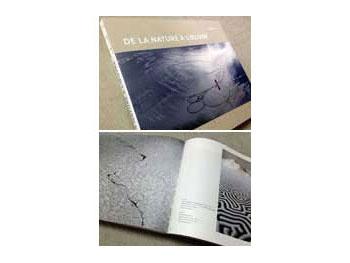 """""""De la nature à l'oeuvre"""" コンテンポラリーアーティスト・山本基の作品を紹介したフランスの作品集。"""