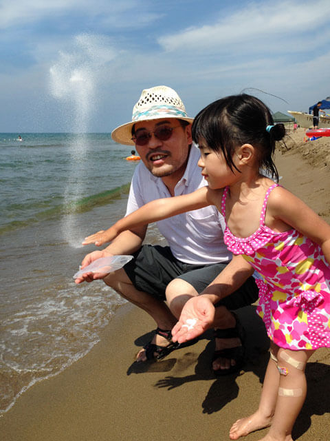 山本基・海に還るプロジェクト・ポーラアネックス