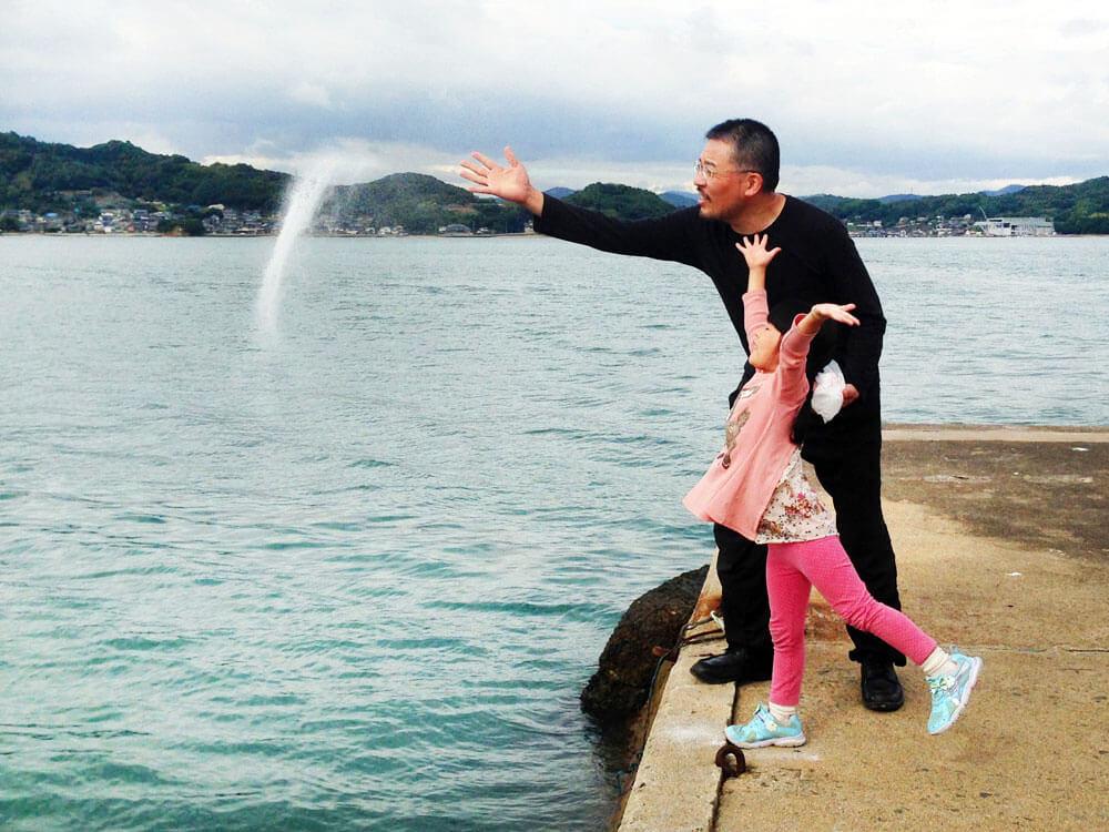 山本基・海に還るプロジェクト・六本木アートナイト