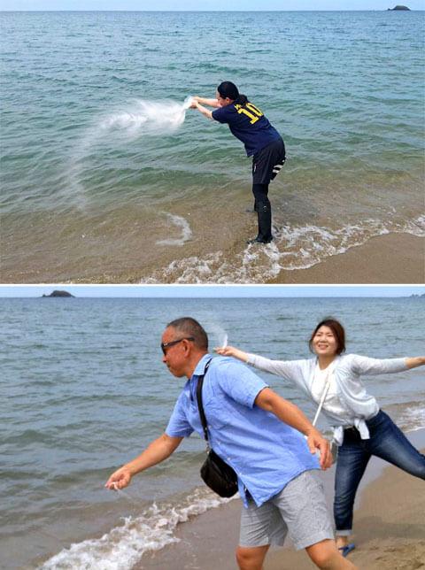 山本基・海に還るプロジェクト・BIWAKOビエンナーレ2016