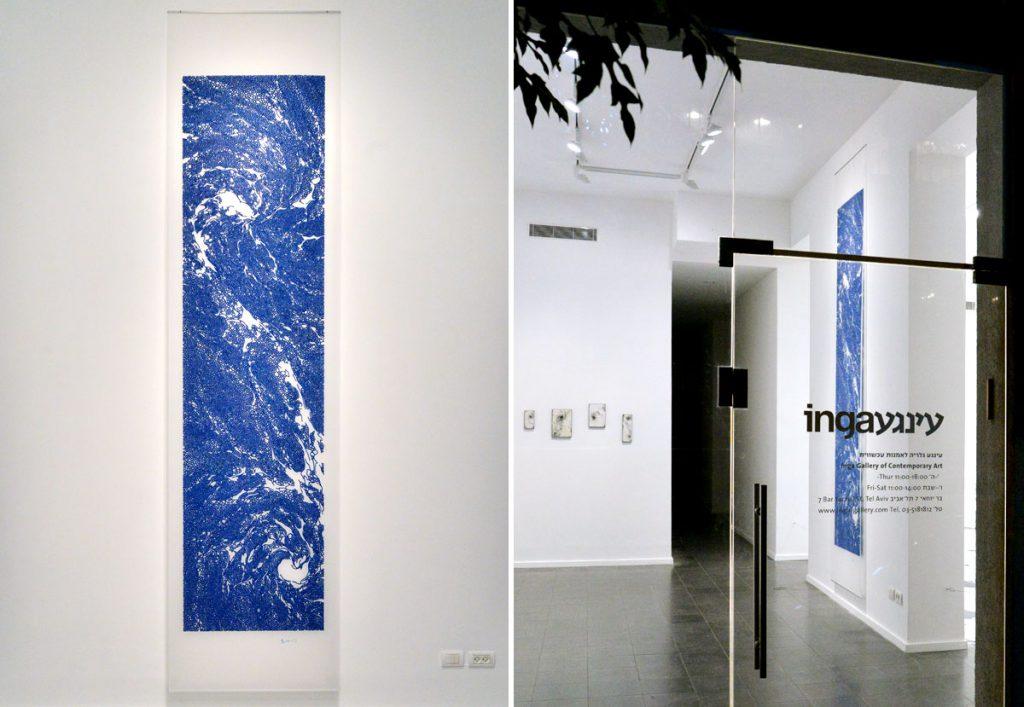 現代美術アーティスト・山本基のドローイング。