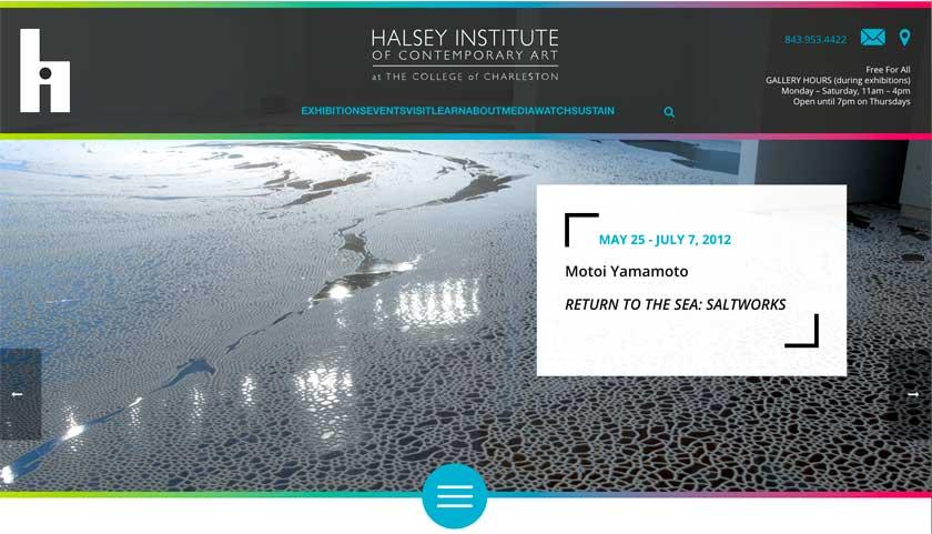 """現代美術・山本基が2012年から14年にかけてアメリカで開催した巡回個展""""Return to the Sea""""を紹介するアーカイブ。Halsey Institute of Contemporary Artの公式サイト。"""