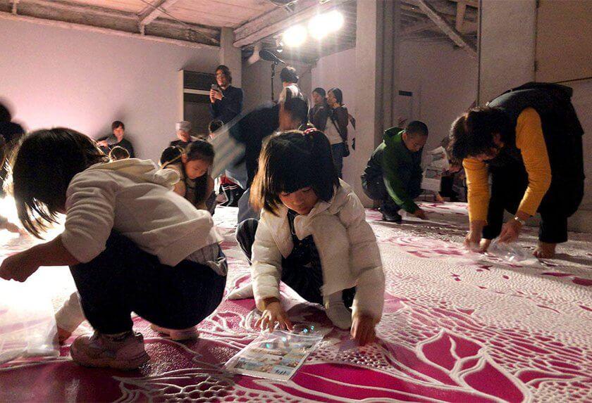 変容する家,金沢21世紀美術館,元ちゃんハウス,山本基,インスタレーション,塩,海に還る,プロジェクト